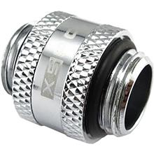 XSPC G1/4″ Male to Male Rotary Fitting Chrome